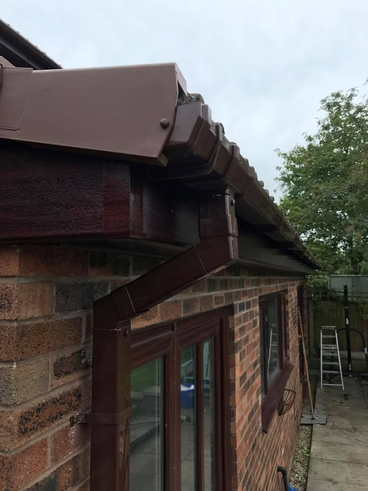Gutter replacement after