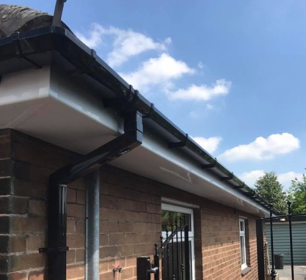 Gutters, guttering services in Oldham, Royton, Shaw, Chadderton